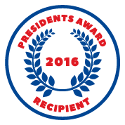 Presidents Award at Bob Chapman Ford