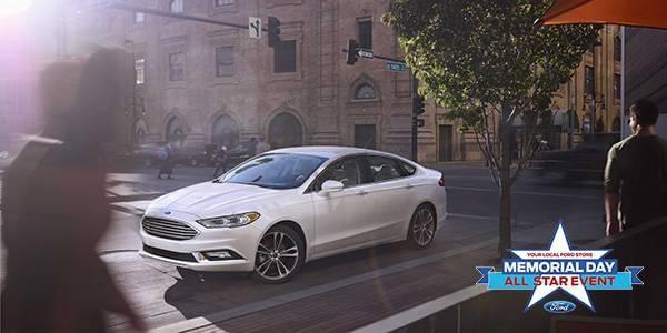 New 2017 Ford Fusion SE FWD 4D Sedan