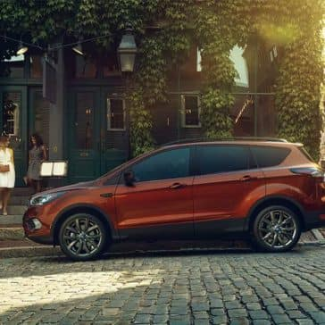 2018 Ford Escape Parked