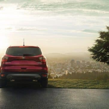 2018 Ford Escape rear