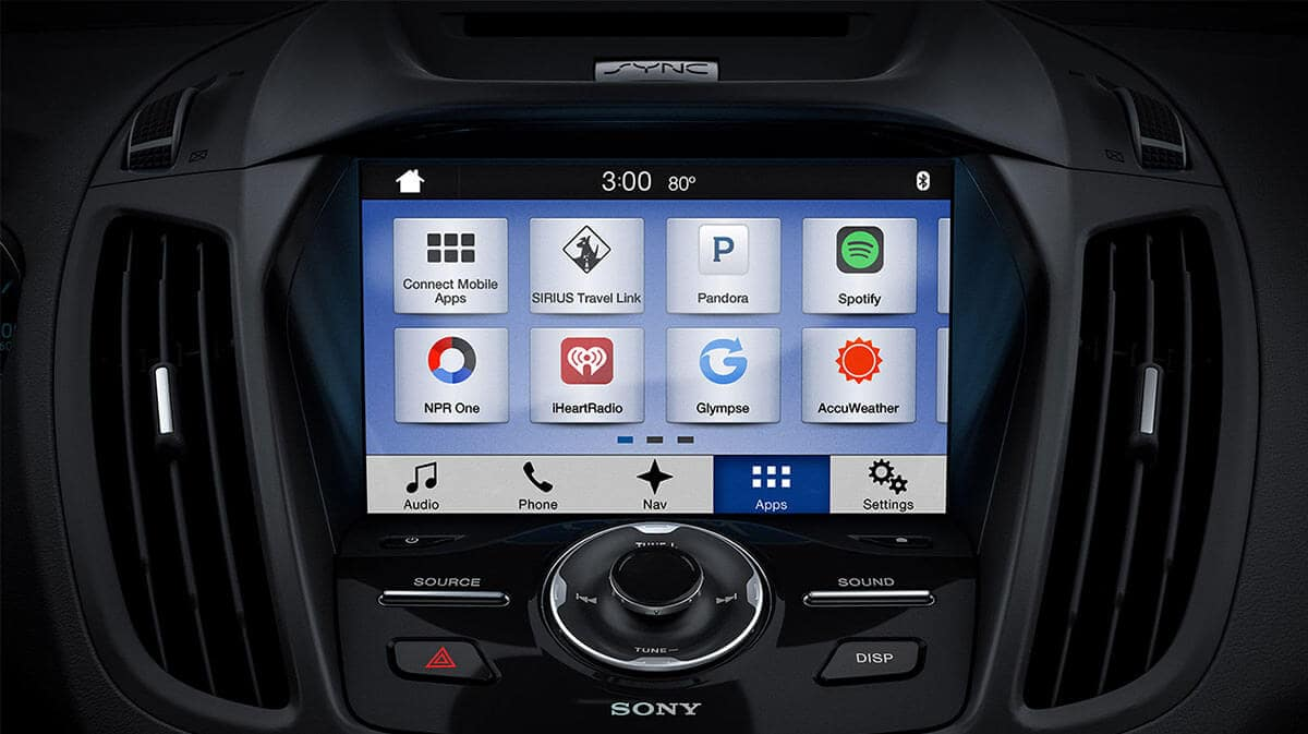 2018 Ford Escape Sync 3 Infotainment