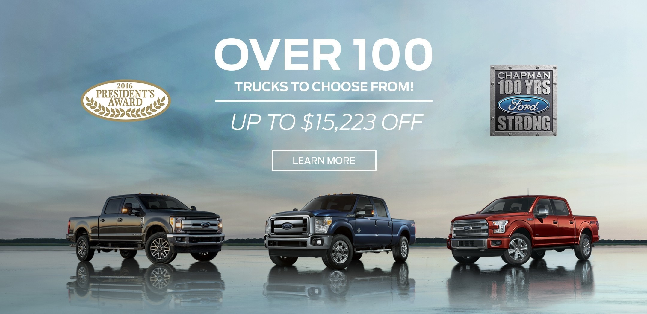 Truck on sale at Bob Chapman Ford