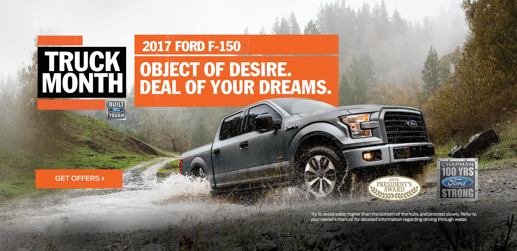 Truck Month at Bob Chapman Ford