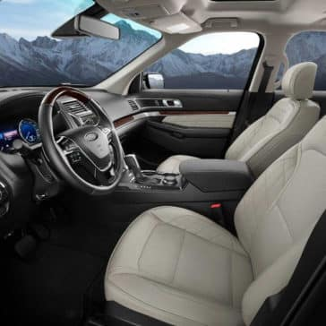2018 Ford Explorer Platinum Interior