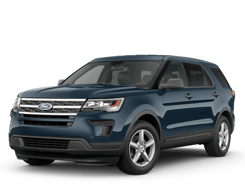 2018 Ford Explorer Hero