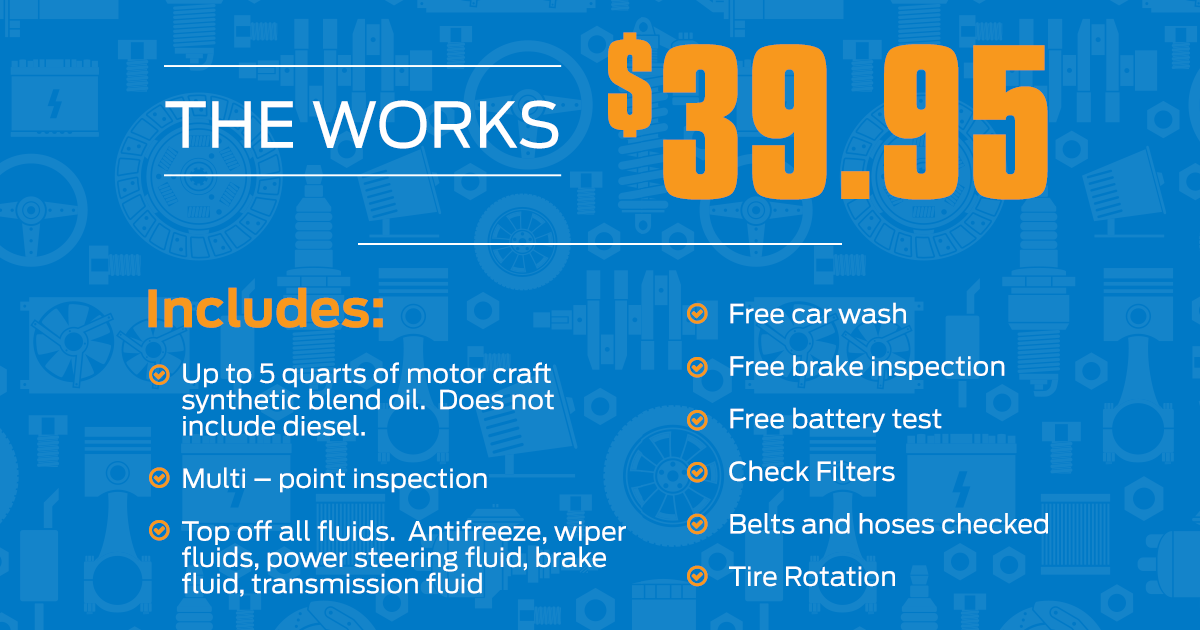 The Works Service Specials Page