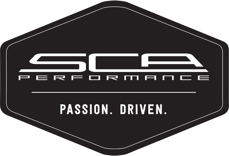 SCA Performance Driven Logo