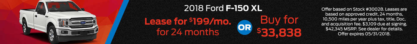 F150XL Bob Chapman May Offer