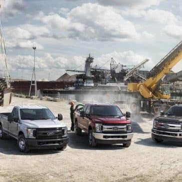 2018 Ford Super Duty model examples