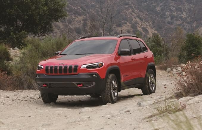 Jeep Cherokee Off-Roading