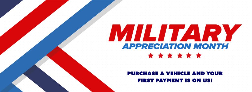Military Appreciation banner