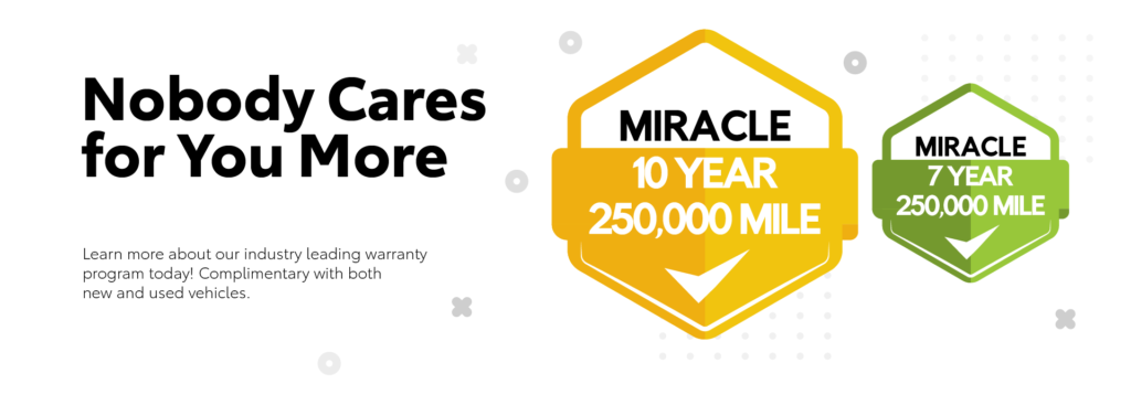 Miracle Warranty Banner