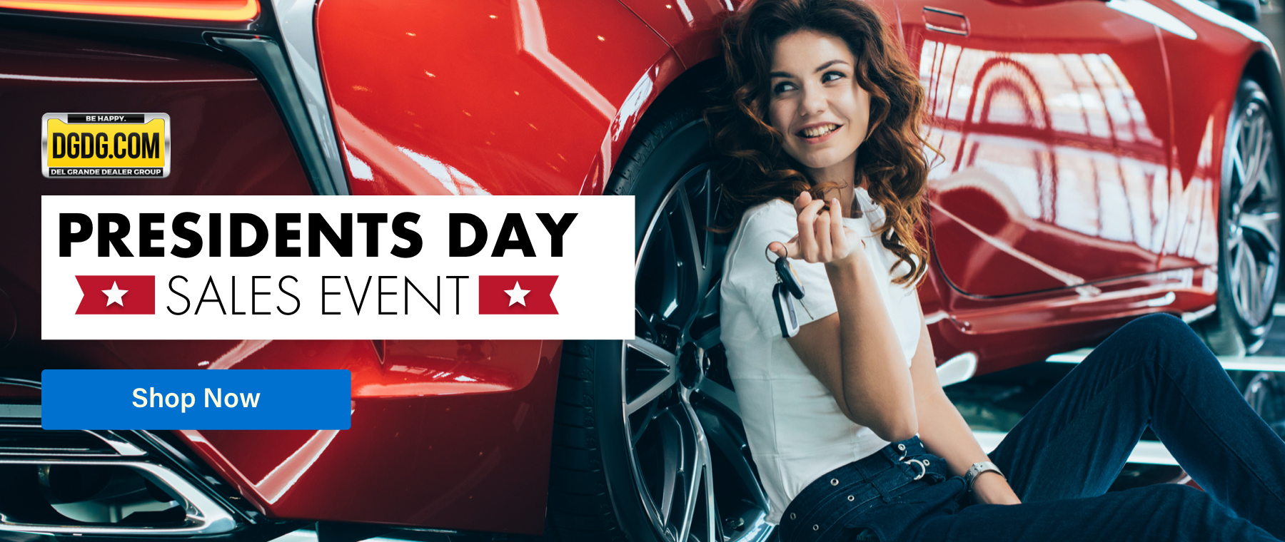 Presidents Day Sales Event GM