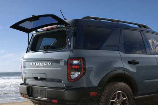 ford bronco flip up rear glass
