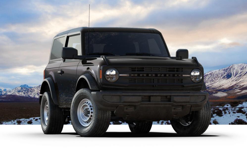 2021 ford bronco sport black