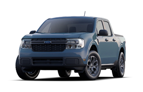 2022 Ford Maverick XLT in the color Area 51