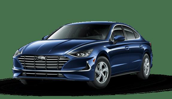 2020 Hyundai Sonata Blue