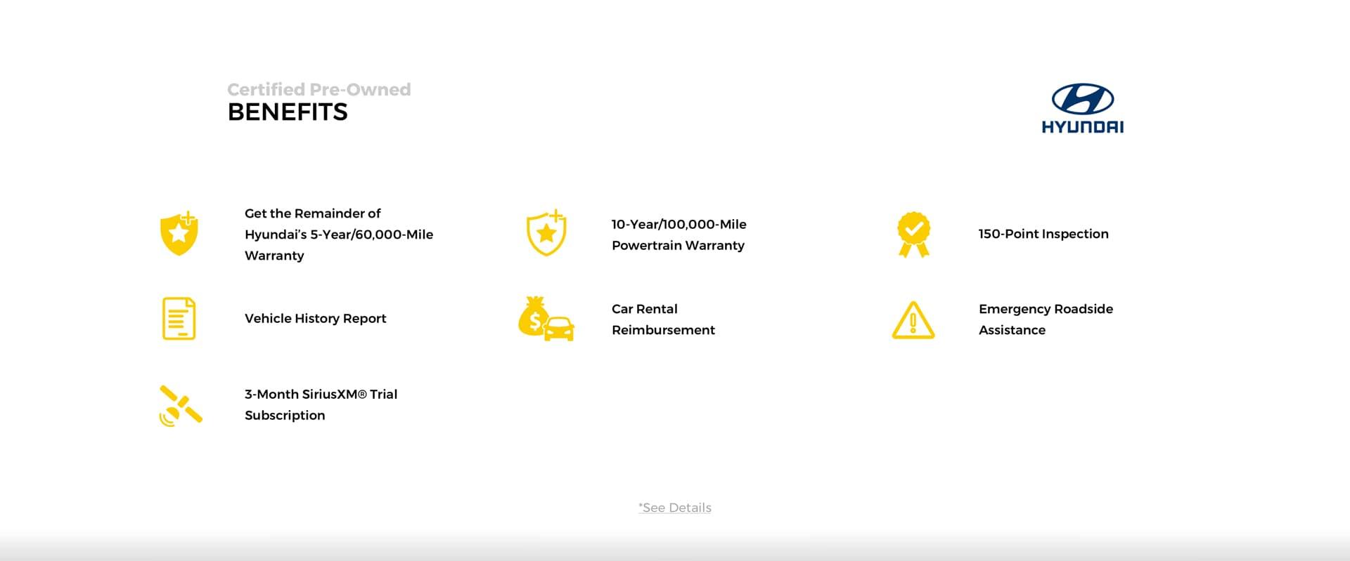 Certified Benefits of Hyundai