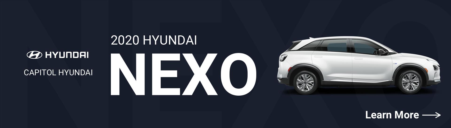 2020 Hyundai Nexo Mobile V2