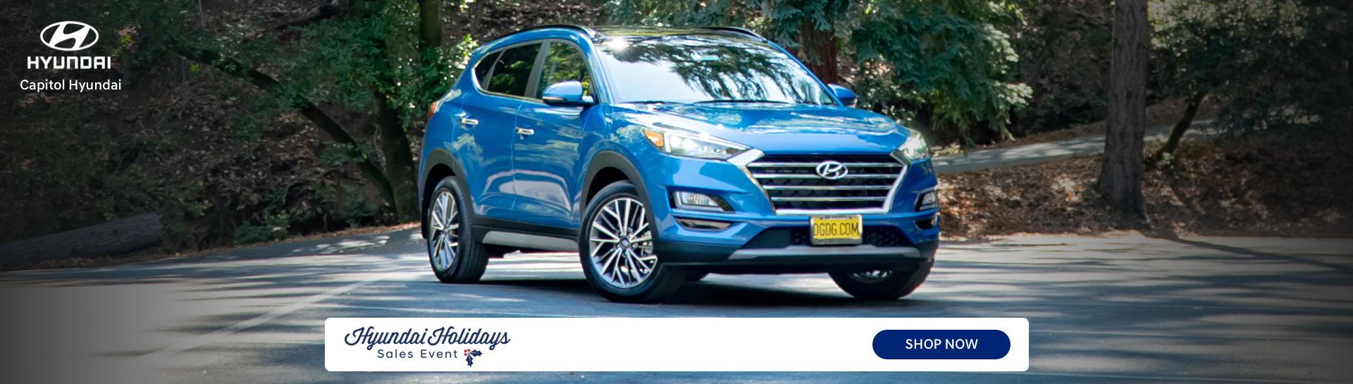 Capitol Hyundai Holidays Sales Event