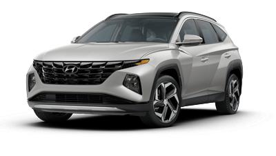 2022 Hyundai TUCSON Limited in silver.