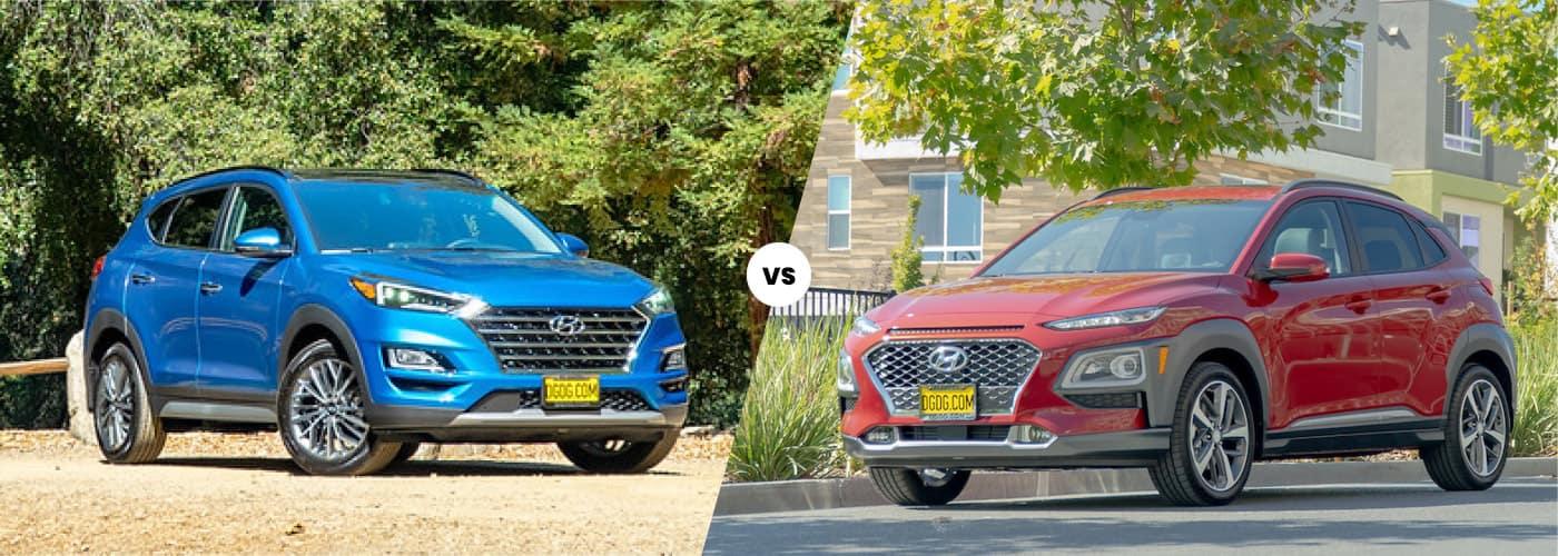 Hyundai Tucson vs Kona