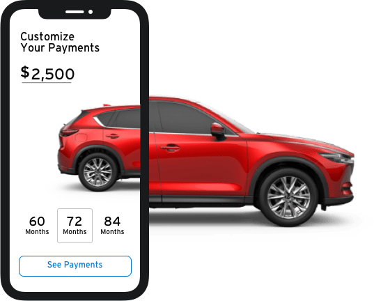 Mazda Vehicle Shop Online Preview