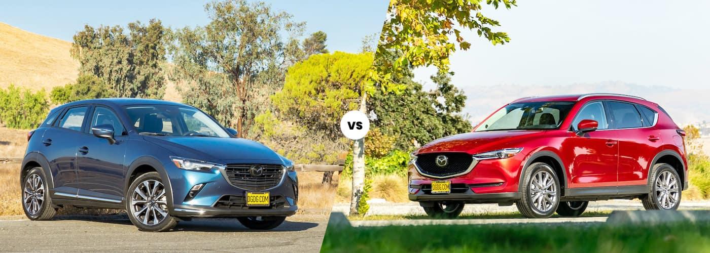 Mazda CX-3 vs. CX-5 Comparison