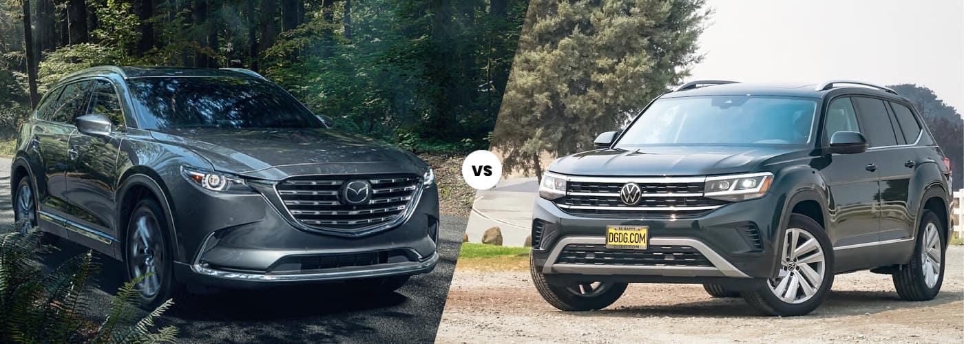 Mazda CX-9 vs. VW Atlas
