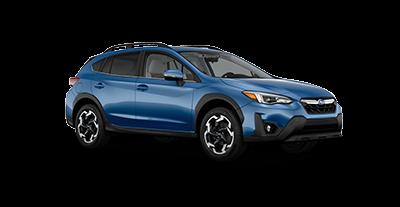2021 Subaru Crosstrek Limited in the color Horizon Blue Pearl