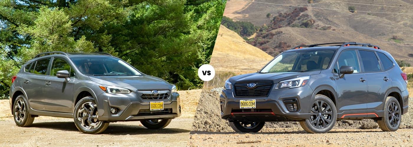Subaru Crosstrek vs. Forester