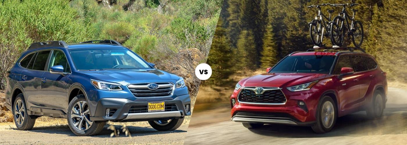 Subaru Outback vs. Toyota Highlander