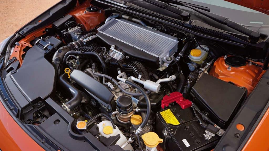 2022 Subaru WRX 2.4L engine.