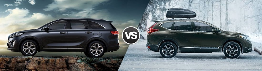 2017 Kia Sorento vs 2017 Honda CR-V