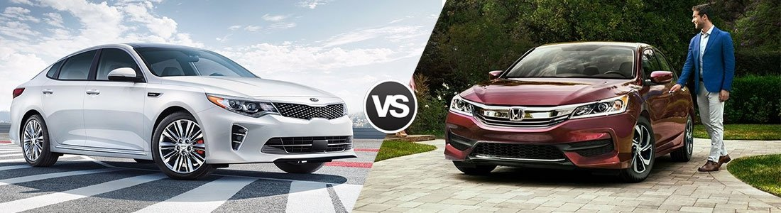 2017 Kia Optima vs 2017 Honda Accord