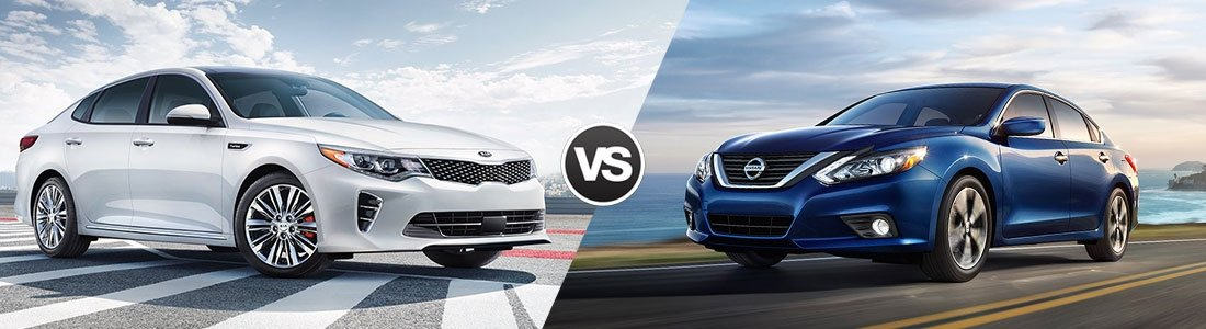 2017 Kia Optima vs 2017 Nissan Altima