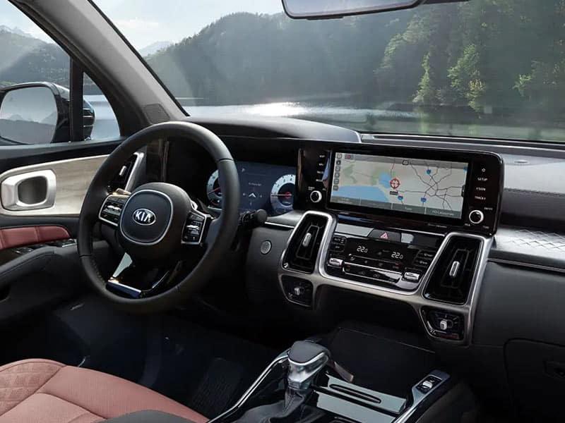 2021 Kia Sorento interior comfort and technology