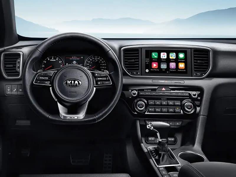 2022 Kia Sportage model lineup and technology