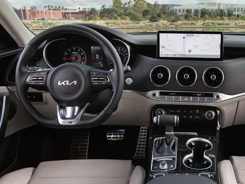 2022 Kia Stinger interior comfort and technology