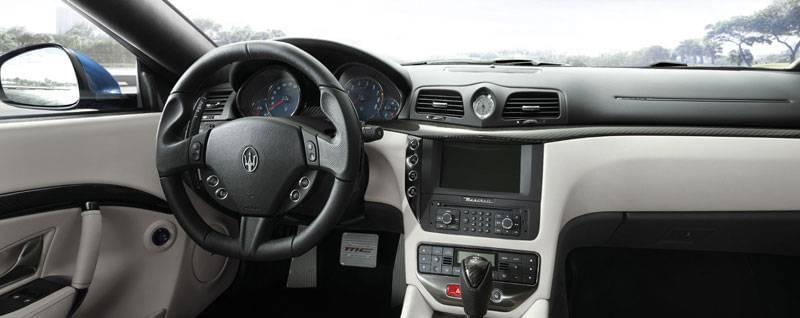 2017 Maserati GranTurismo Interior