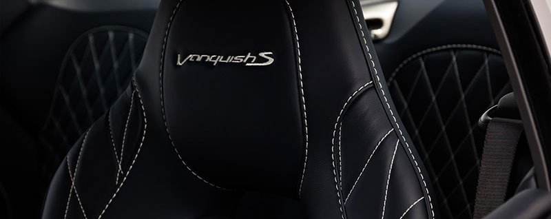 2018 Aston Martin Vanquish S Seats