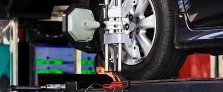 tire alignment services at Cleveland Motorsports in Ohio
