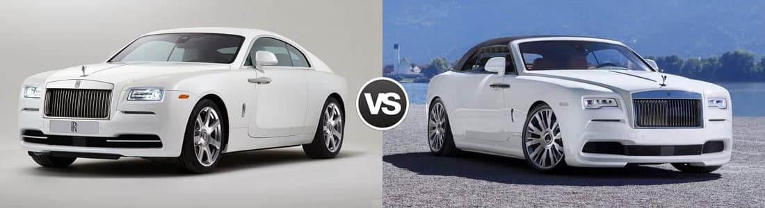 2018 Rolls-Royce Wraith vs Dawn | Cleveland Motorsports