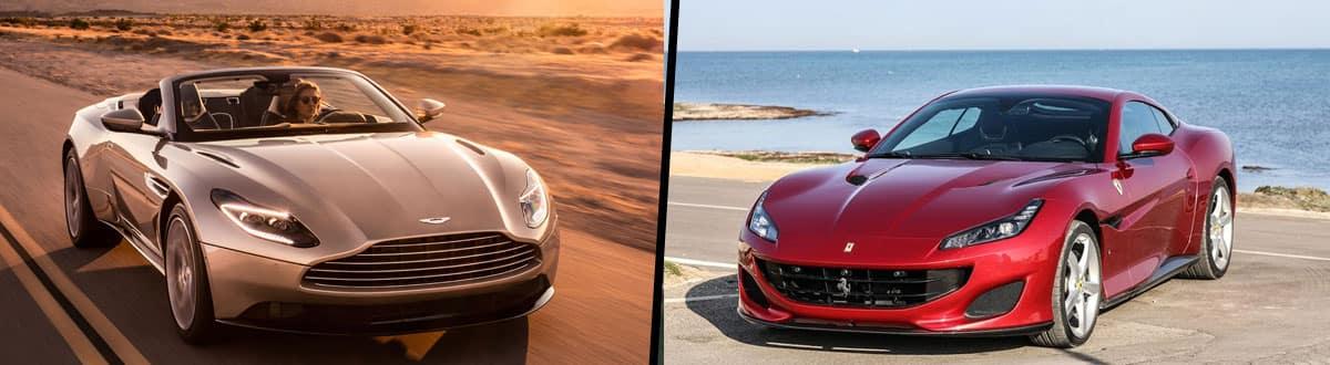 2019 Aston Martin DB11 vs 2019 Ferrari Portofino