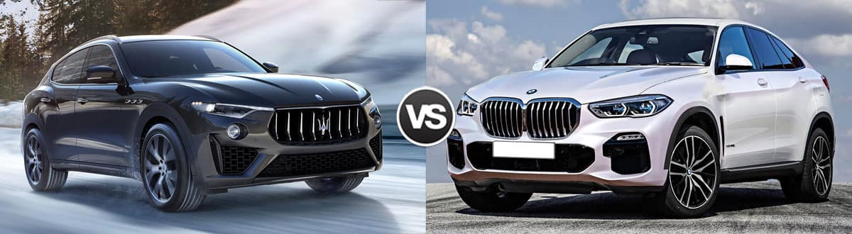 2019 Maserati Levante vs 2019 BMW X6 XDrive 50i