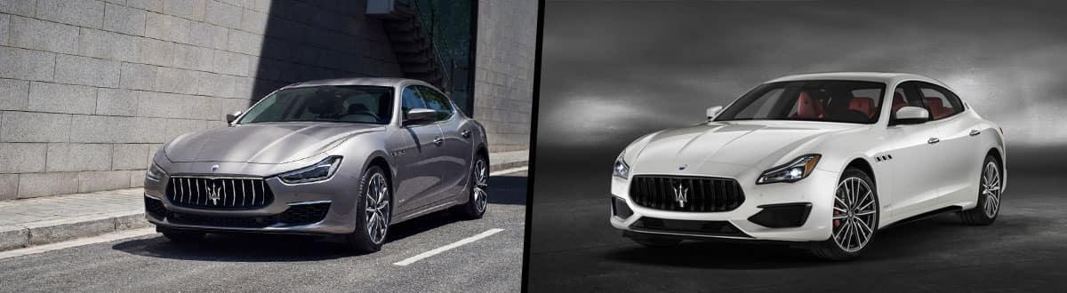 2019 Maserati Ghibli vs 2019 Maserati Quattroporte