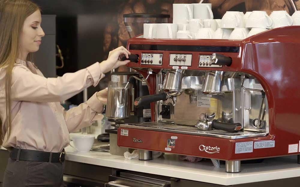 Cleveland Motorsports North Olmstead Service Espresso Machine