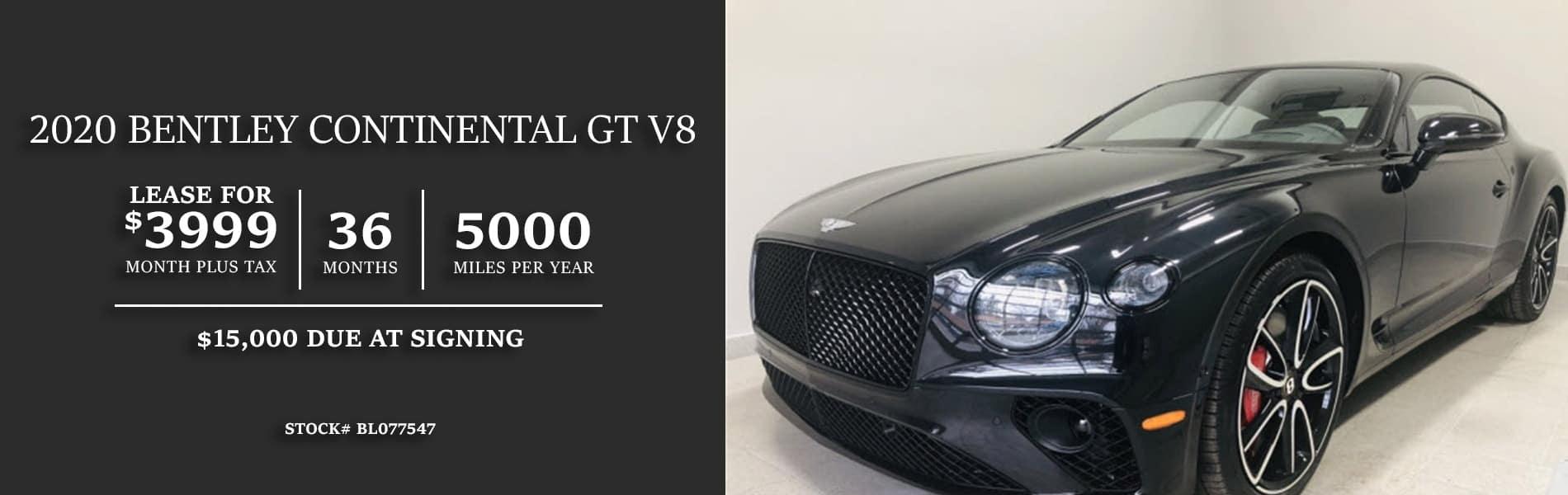 1 -2020 Bently GT V8