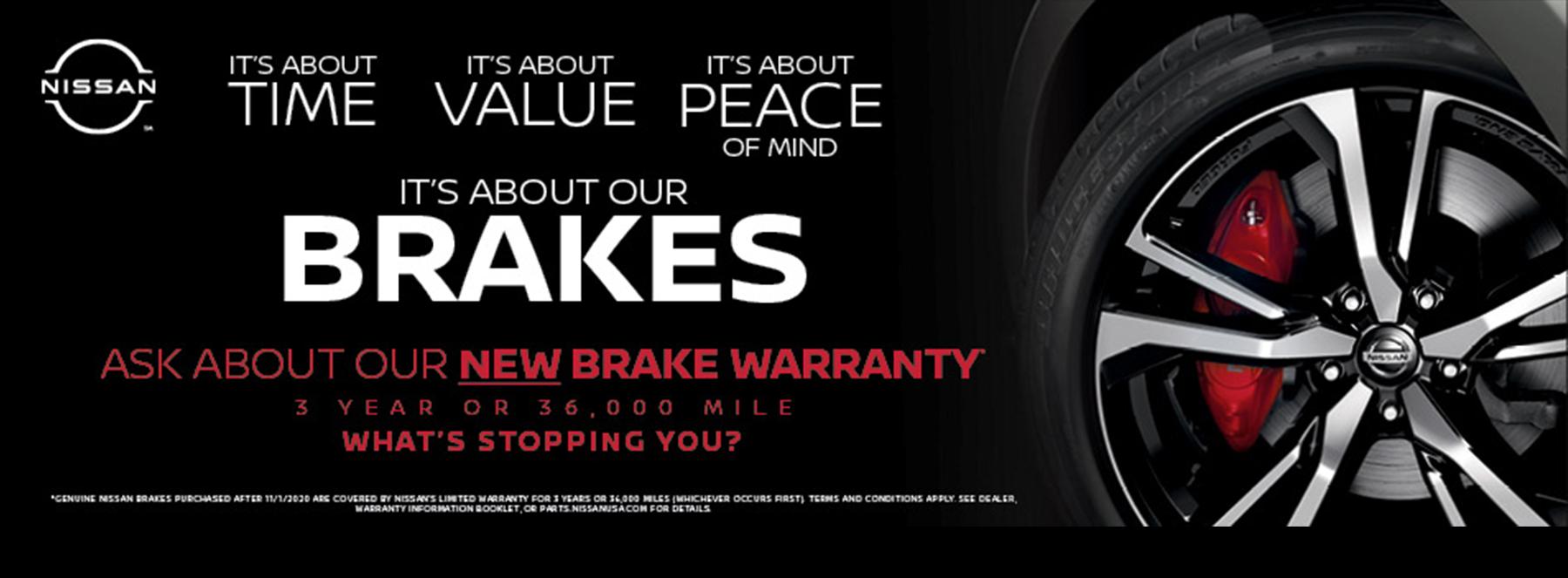 Nissan Brake Warranty
