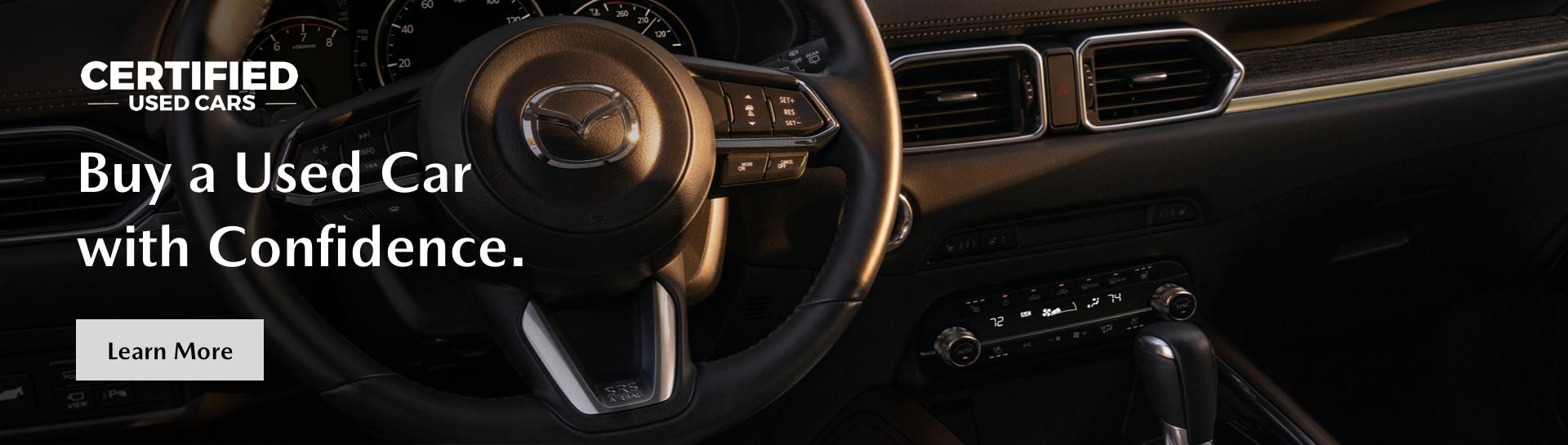 Certified Used – Mazda